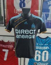 Maillot jersey maglia camiseta shirt trikot om Marseille 2009 2010 noir black S