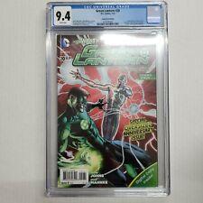 Green Lantern #20 CGC 9.4 WP D.C Comics RARE Combo Pack Variant 1st Jessica Cruz