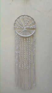 Nature4u  Boho Tree of Life Dream Catcher, Macrame Wall Hanging Dreamcatcher