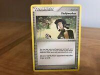Pokemon 73//92 Trainer Fieldworker ENGLISCH