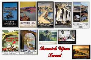 BERWICK UPON TWEED - TRAVEL POSTER POSTCARD SET # 1