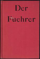 DER FUEHRER Konrad&Heiden; Houghton Mifflin, 1944; 1st EDITION HC COLLECTABLE