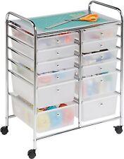 Rolling Cart Drawers Mobile Storage Tool Box Craft Organizer