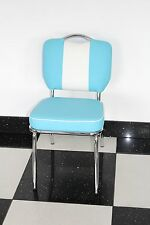 American Diner Furniture 50s Style Retro Chair Blue