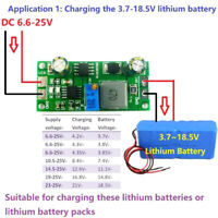 3.7V 3.8V 7.4V 11.1V 12V 14.8V 18.5V Lithium Li-On Lipo 18650 Battery Charger fw