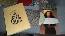 CHER LOVE HURTS CD BOX WOODEN RARE PROMOTIONAL LTD EDITION 13 TAROT CARDS