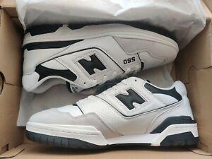 New Balance 550 Sea Salt Black UK 11 White - Brand New ✅