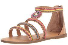 Girls Nina Dutch Sandal in Nude Burnish, Size 2 NIB $49