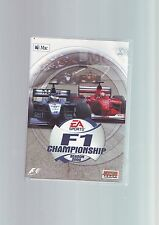 F1 CHAMPIONSHIP SEASON 2000 - APPLE MAC MACINTOSH OSX OS X GAME - COMPLETE - VGC