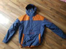 Columbia Challenger pullover jacket size large in blue and orange