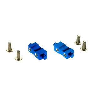 Dynamite DYN8015B Aluminum Servo Mounts, Blue: Mini-T