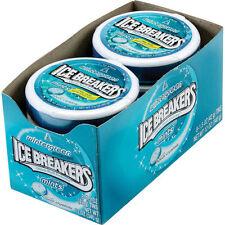 New! X16 Ice Breakers Sugar Free Mints, Wintergreen, 1.5 oz, 16 ct candy mints