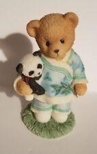 """Teddy Bear Figurine - Lian Priscilla Hillman appx. 3.5""""T x 2""""W x 2""""L Vg"""
