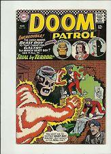 DOOM PATROL #110 1967 DC  SILVER AGE COMIC BOOK  SOLID FN+
