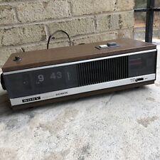 New ListingVtg 1970 Sony 8Fc-79W Flip Clock Radio Tested Works Great!