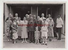 (F2569+) Orig. Foto Familienfoto Luftwaffe-Angehöriger H.R.Wisner, Juni 1938