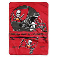 NFL Football Licensed Tampa Bay Buccaneers Soft Plush Throw Twin Size Blanket