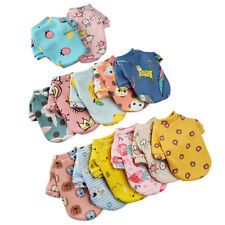 2PCS Mixed Color And Size Cartoon Pet Autumn Winter Clothes For Dogs And Cats