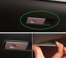 Stainless steel trim glove box decoration strip for Volvo XC60 S60 V60 S80