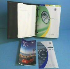 04 2004 VW New Beetle/Beetle owners manual