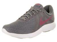 NIKE REVOLUTION 4 EU SHOE ZAPATOS RUNNING ORIGINAL TRAINING AJ3490 008 GRIS