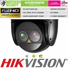 HIKVISION PTZ IP CAMERA 1080P 30x ZOOM SMART AUTO TRACKING 500M LASER IR DWDR
