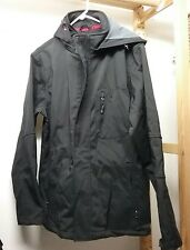 NWT IZOD BLACK 3-IN-1 ALL SYSTEM JACKET MEN'S SIZE SMALL