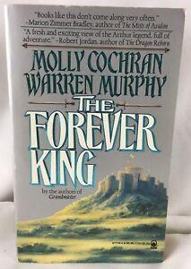 """The Forever King"" Molly Cochran Warren Murphy (1993 Paperback) TOR Fantasy Book"