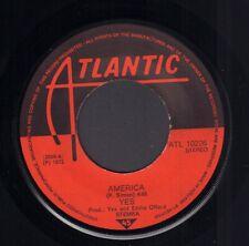 "YES – America (1972 VINYL SINGLE 7"" HOLLAND)"