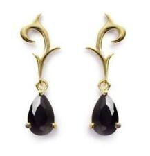 Lab-Created Pear Stud Fine Earrings