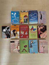13 Stück Romane, Liebesromane, Konvolut, Sammlung, Taschenbücher Ahern Roberts
