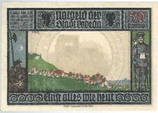 Notgeld - Stadt Lobeda (zu Jena) - 50 Pfennig - 1921 - Motiv 1 - Ortsansicht
