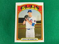 2021 Topps Heritage #483 Kyle Hendricks SP Chicago Cubs