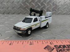 1/64 CUSTOM farm toy dodge 2500 John Deere construction service pickup truck