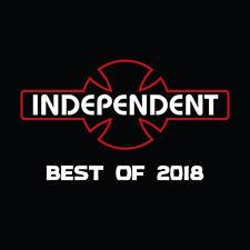 Independent Skateboard Trucks Best of 2018 Skate Video Dvd New in Plastic