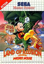 LAND OF ILLUSION STELLE MICKEY MOUSE SEGA MASTER SYSTEM incorniciato stampa (videogame)