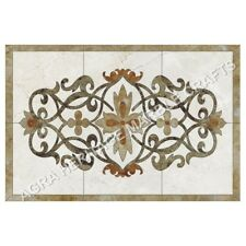 4'x2' Marble Contemporary Dining Table Top Inlay Stunning Art Garden Decor H4999