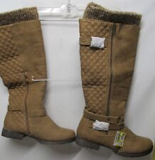 Just Fabulous  women size 10 Brown boots 1 inch heel NWT Lot#R