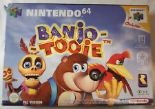 Banjo-Tooie N64 Nintendo 64 PAL Boxed Game With Manual & Box Protector