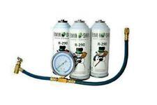 Enviro-Safe R-290 Refrigerant 3 cans & gauge kit #8006