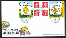2016 - Mr.Men & Little Miss FDC - Princess Lane, B'ham Postmark Post Free