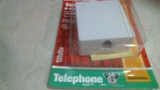 Surface Jack 3108388 6-Conductor White, Free Shipping