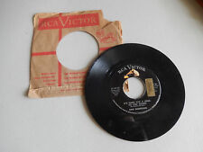 DON ROBERTSON life goes on/it's hard for a king to step down RCA    45