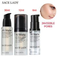 SACE LADY Face Base Primer Makeup Liquid Matte Fine Lines Oil-control