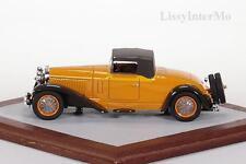 Bugatti de Villars Cabriolet 1929 Ilario Chromes 1:43 Nuovo/Scatola Originale