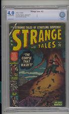 Strange Tales #22 CBCS 4.0 VG Unrestored Atlas Marvel Scarce CR/OW Pages