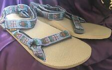 BRAND NEW Teva Original Universal Woolrich Olmec Blu Sport Sandals Men's Size 14