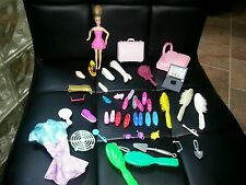 BIG Lot of BARBIE DOLL ACCESSORIES, SHOES BRUSHES MISC. all as pictured