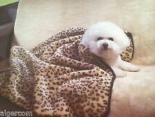 Guardian Gear Pet Luxurious Two Piece Faux Fur Car Seat Cover and Blanket NEW