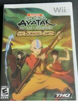 Avatar: The Last Airbender - The Burning Earth (Nintendo Wii, 2007) Complete